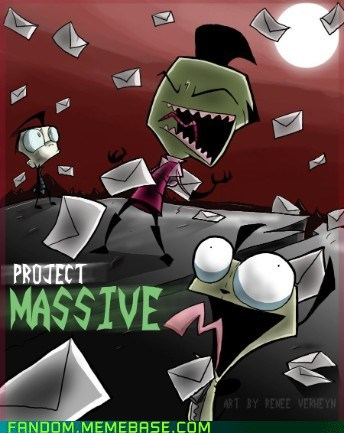 best of week cartoons Fan Art Invader Zim It Came From the Interwebz project massive - 6002270208