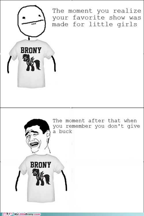 brony comics favorite tv show pride T.Shirt - 6003177984