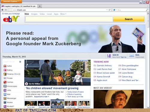 ebay google Mark Zuckerberg misquotes - 6003425280