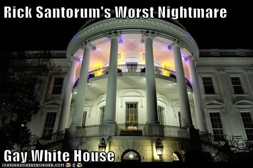 gay rights political pictures Rick Santorum White house - 6003437568