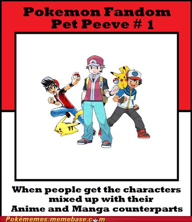 anime ash fandom manga Memes pet peeve red - 6003505408
