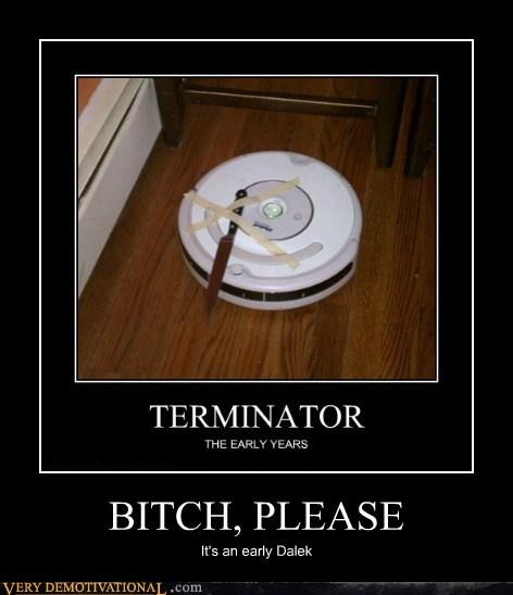 dalek,robot,roomba,terminator,Terrifying