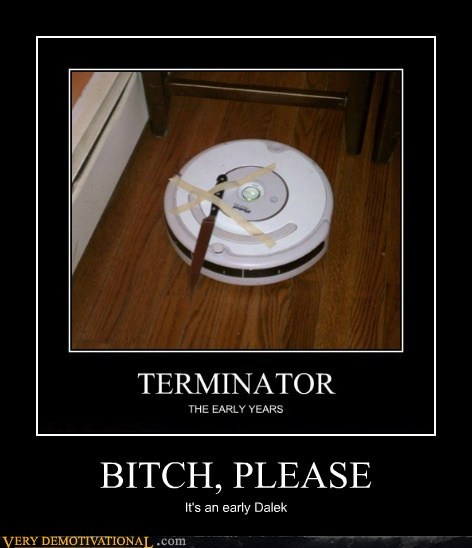 dalek robot roomba terminator Terrifying - 6003593216