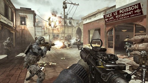 Modern Warfare 3,terrorists,The Sun,video games,war games