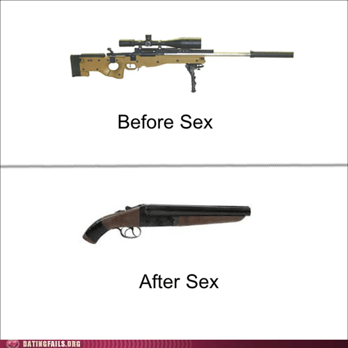after sex before sex guns phallic metaphors - 6003779328