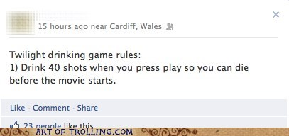 die drinking game facebook twilight - 6003805184