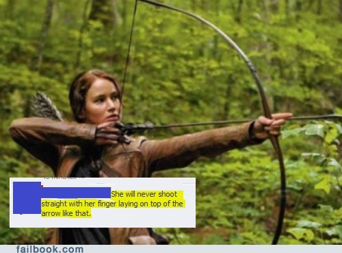 failbook,g rated,hunger games,movies,picture,troll
