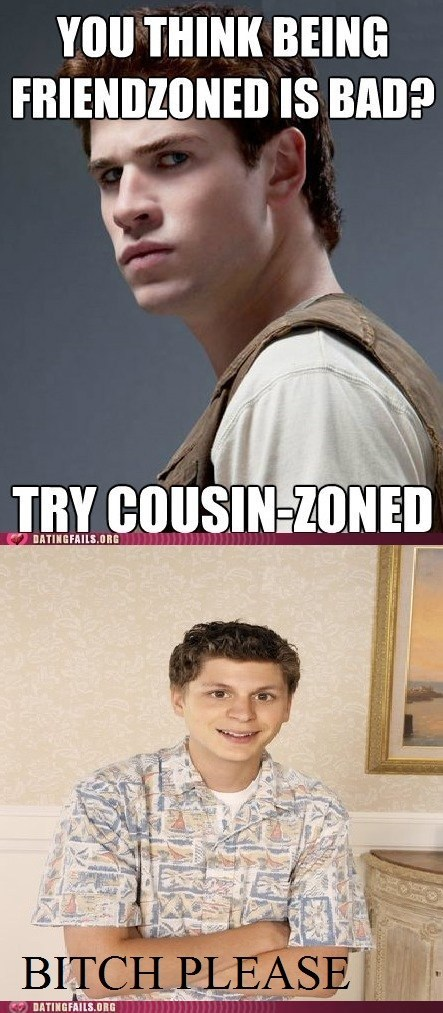arrested development cousin zoned George Michael hunger games - 6003912704