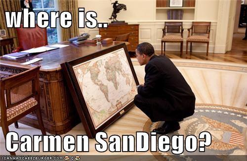 atlas barack obama Carmen San Diego political pictures - 6003986688