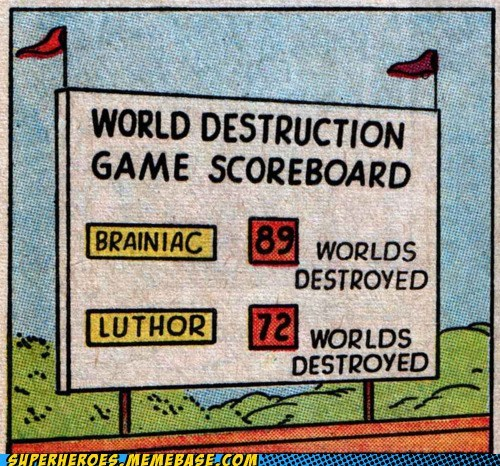 braniac destruction game lex luthor Straight off the Page - 6004239872