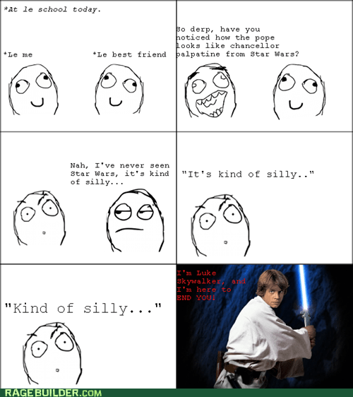 Rage Comics scifi silly star wars - 6004276480