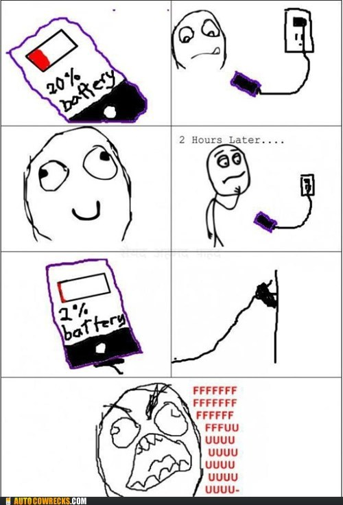 battery comic drainage power rage comic - 6004367872