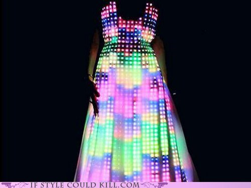 cool accessories,dresses,LED,lights