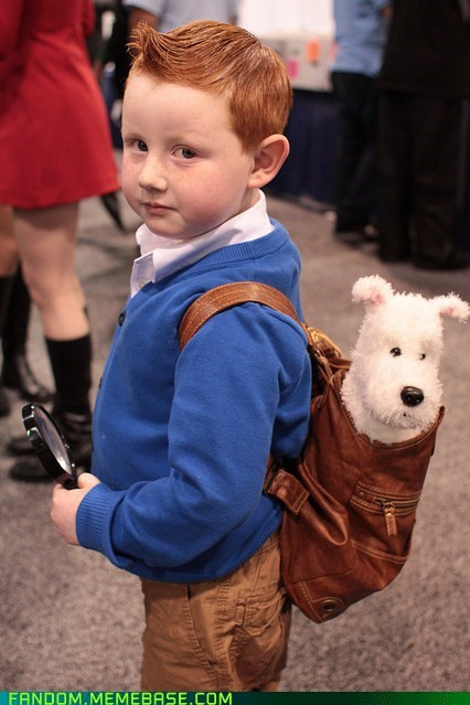 comics,cosplay,cute,kids,movies,Tintin