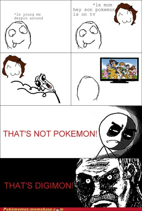 digimon parents Pokémon rage comic Rage Comics - 6004685312