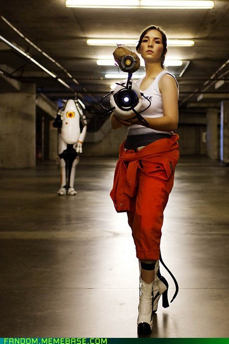 chell,p-body,Portal,video games