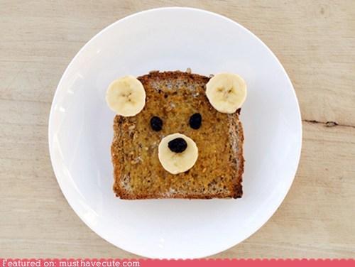 bananas bear bread epicute face peanut butter - 6005206272