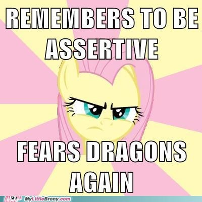 dragon migration dragons fluttershy meme - 6005232896