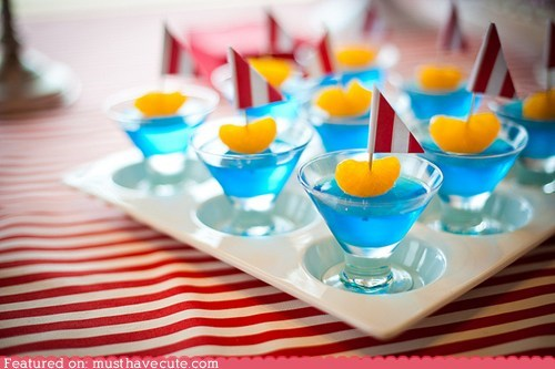 blue boat epicute Jello sail shot water - 6005248512