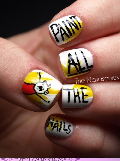 Meme All The Nails Cheezburger Funny Memes Funny Pictures