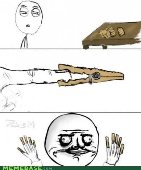 clothespins,me gusta,Rage Comics