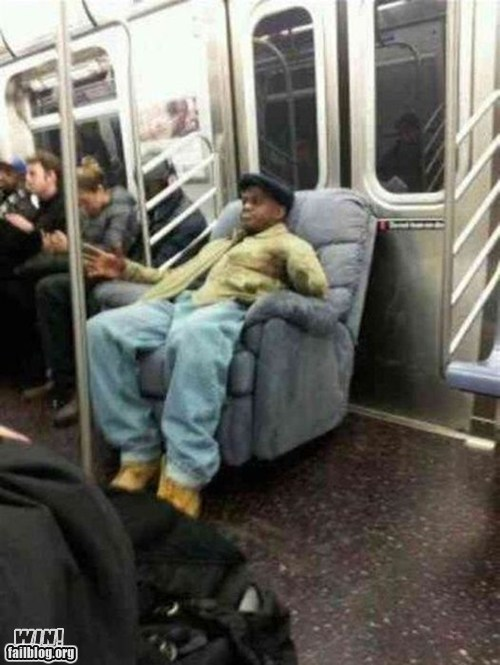 arm chair comfy Like a Boss relaxing Subway - 6005742592