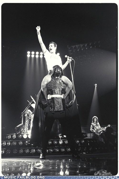 concert darth vader freddie mercury live nostalgia star wars - 6005752576