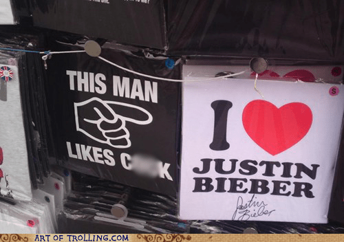 IRL justin bieber shirt that sounds naughty - 6005801984