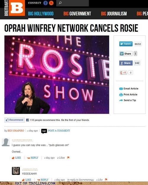 caruso sunglasses,oprah,Oprah Winfrey,puns,rosie,yeaaaah