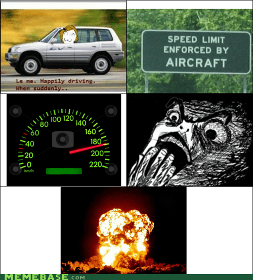 aircraft,driving,Rage Comics,raisin horror,speeding