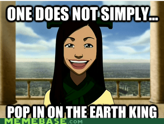 Avatar,earth king,flexible,one does not simply