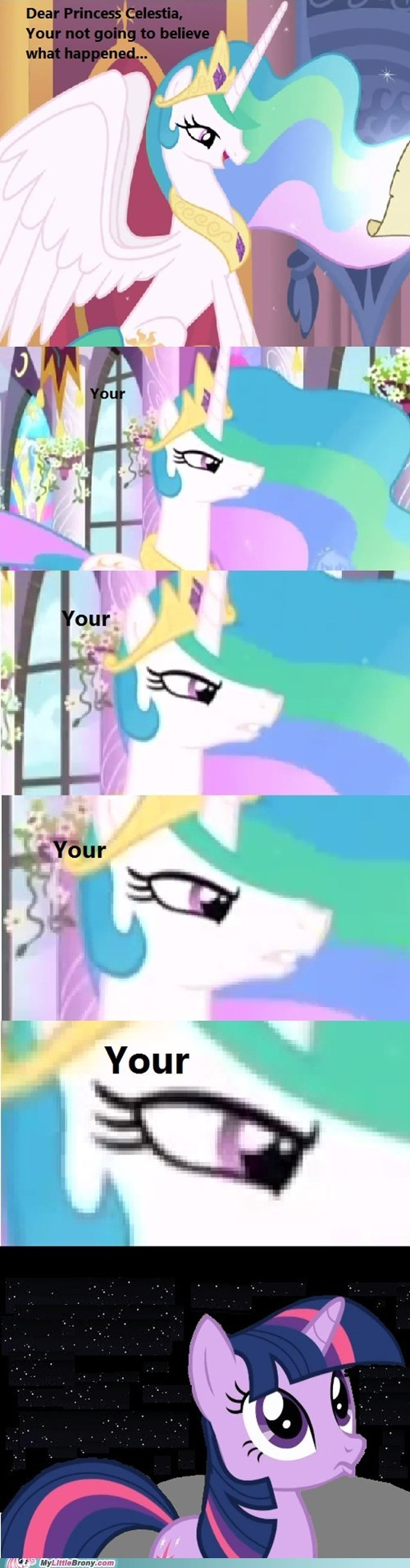 banished comics grammer letter to celestia to the moon your youre - 6006632448