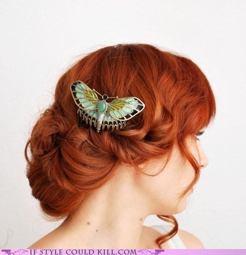 butterflies cool accessories hair moths pins - 6006903808
