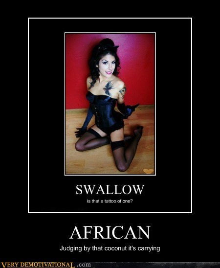 african hilarious monty python Sexy Ladies swallow - 6007211776