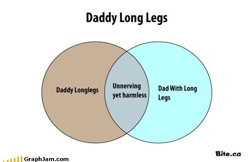daddy,fears,irrational,legs,long,spiders,venn diagram