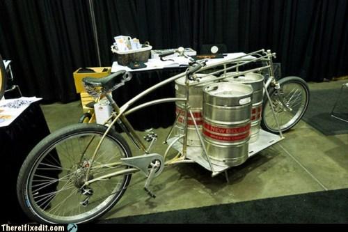 beer bicycle keg kegstand kickstand - 6008367872