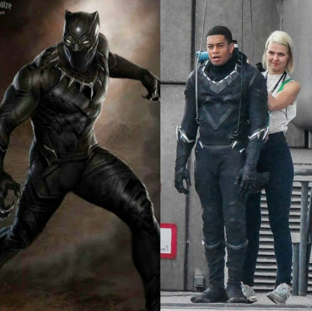 behind the scenes black panther civil war - 600837