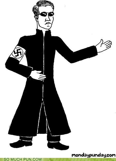 double meaning literalism nazi neo swastika the matrix - 6008662272