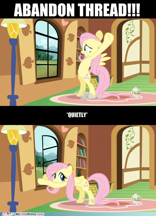 abandon thread aggressive comics fluttershy quietly yay - 6008700928