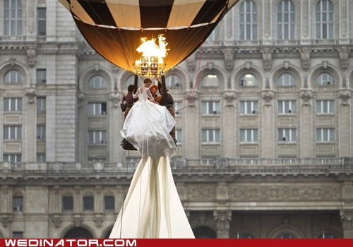 bride funny wedding photos guinness world train wedding dress wedding gown - 6008740096