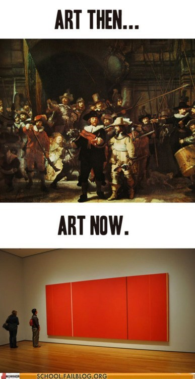 art history 212,art now,art then,class is in session,g rated,modern art,School of FAIL