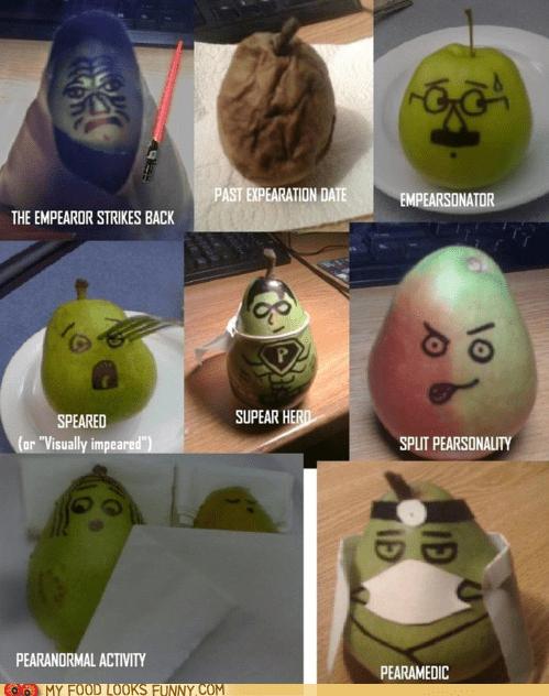 costume,pear,puns
