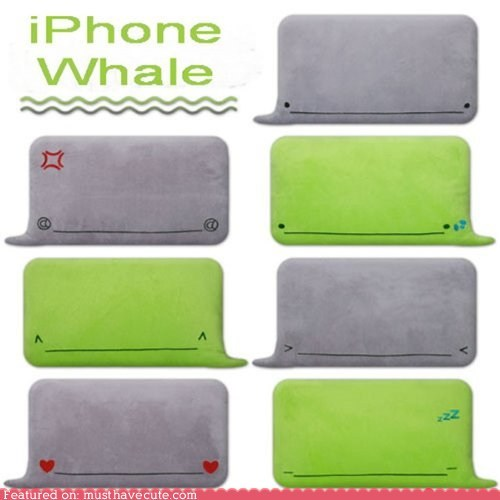 emoticon iphone pillows text whale