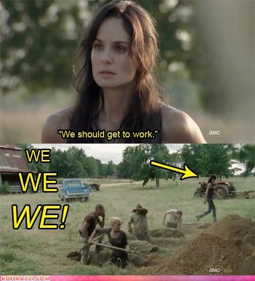 actor amc celeb funny sarah wayne callies The Walking Dead TV - 6008946944