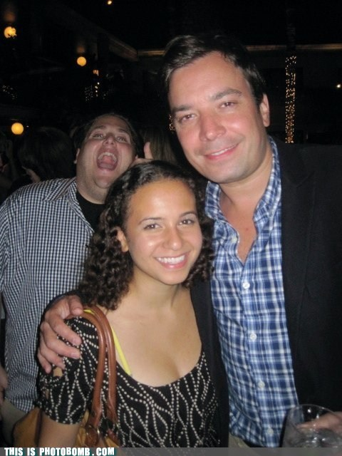 The Ultimate Celeb Photobomb!
