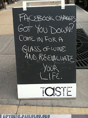 bar facebook glass Hall of Fame sign wine - 6009173760