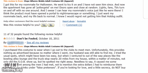 amazon,clever,costume,review,wheres waldo