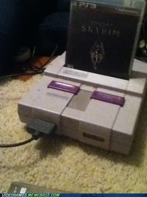 i dunno lol,not working,Skyrim,Super Nintendo,the internets