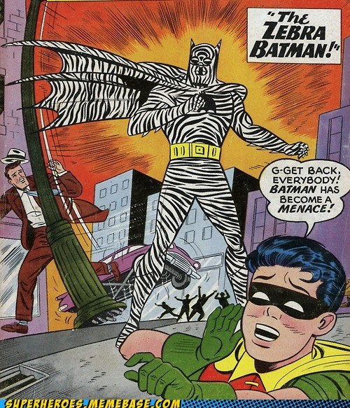 batman menace Straight off the Page weird zebra - 6009638912
