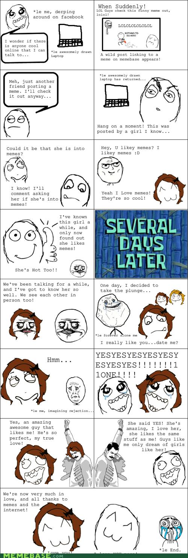 dating me gusta Memes Rage Comics relationships - 6009747200